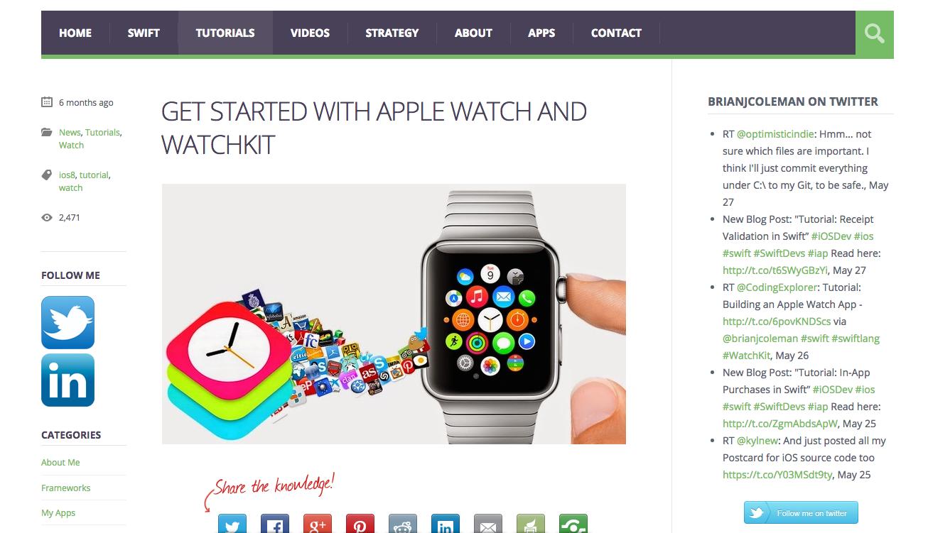 7 Useful Beginner Resources for Apple Watch App Development