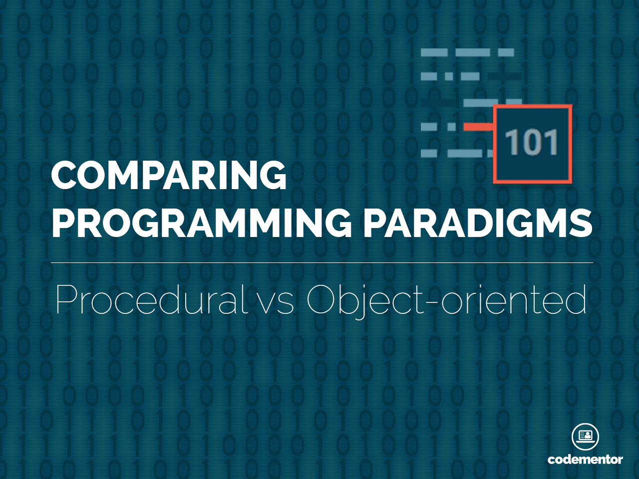 procedural programming Procedural programming is intuitive in the sense that it is very similar to how you would expect a program to work if you want a computer to do something, .