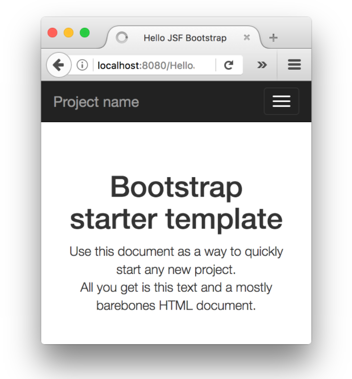 Getting Started with Bootstrap and JSF | Codementor