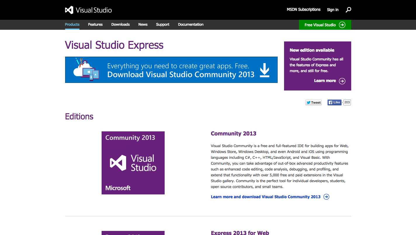 Learn visual studio online