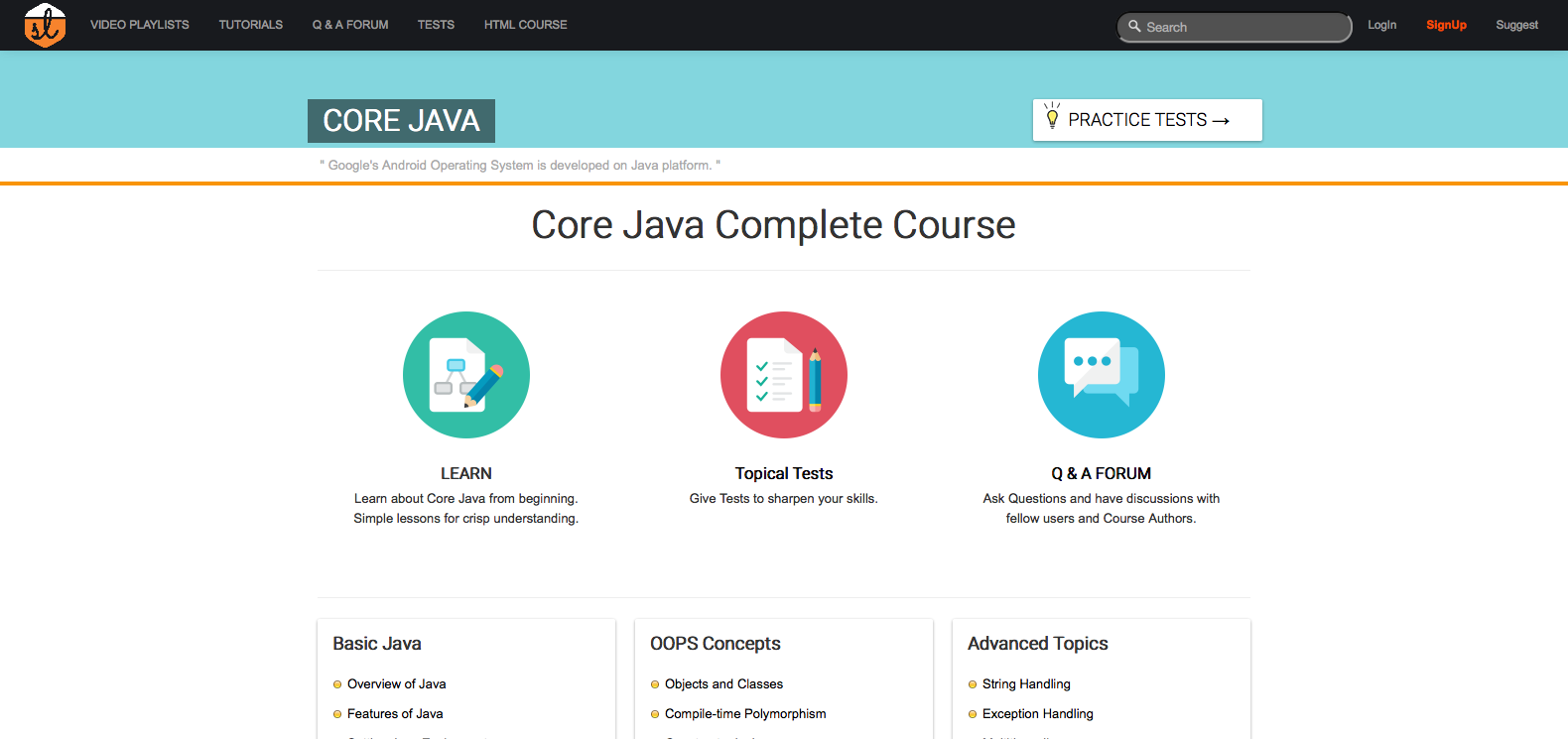 learn java online a guide codementor another source of simple and easy to understand beginner tutorials not just for java but also for other computer programming subjects like ruby c jsp