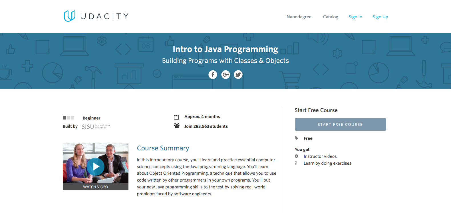 learn java online a guide codementor first time coders can truly benefit from taking udacity s intro to java programming this course is intended for absolute beginners not just in java