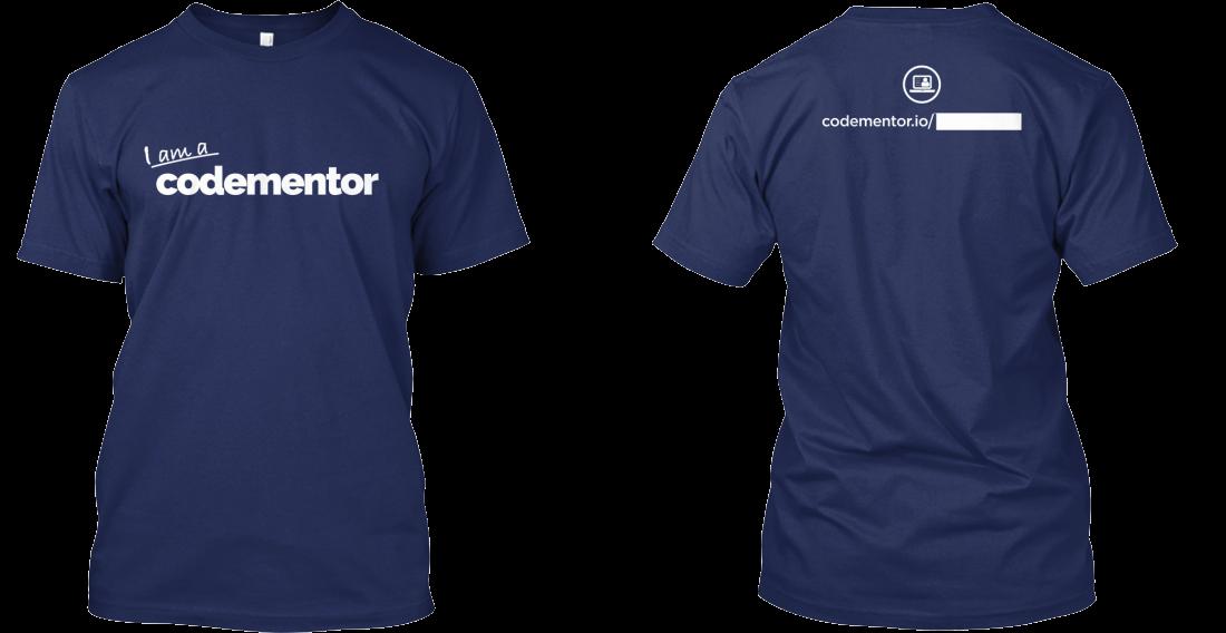 Codementor T-shirt back