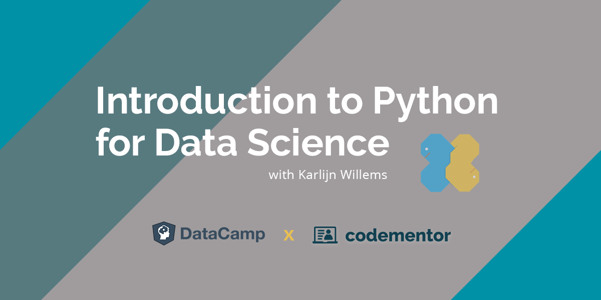 Introduction to Python for Data Science- Codementor