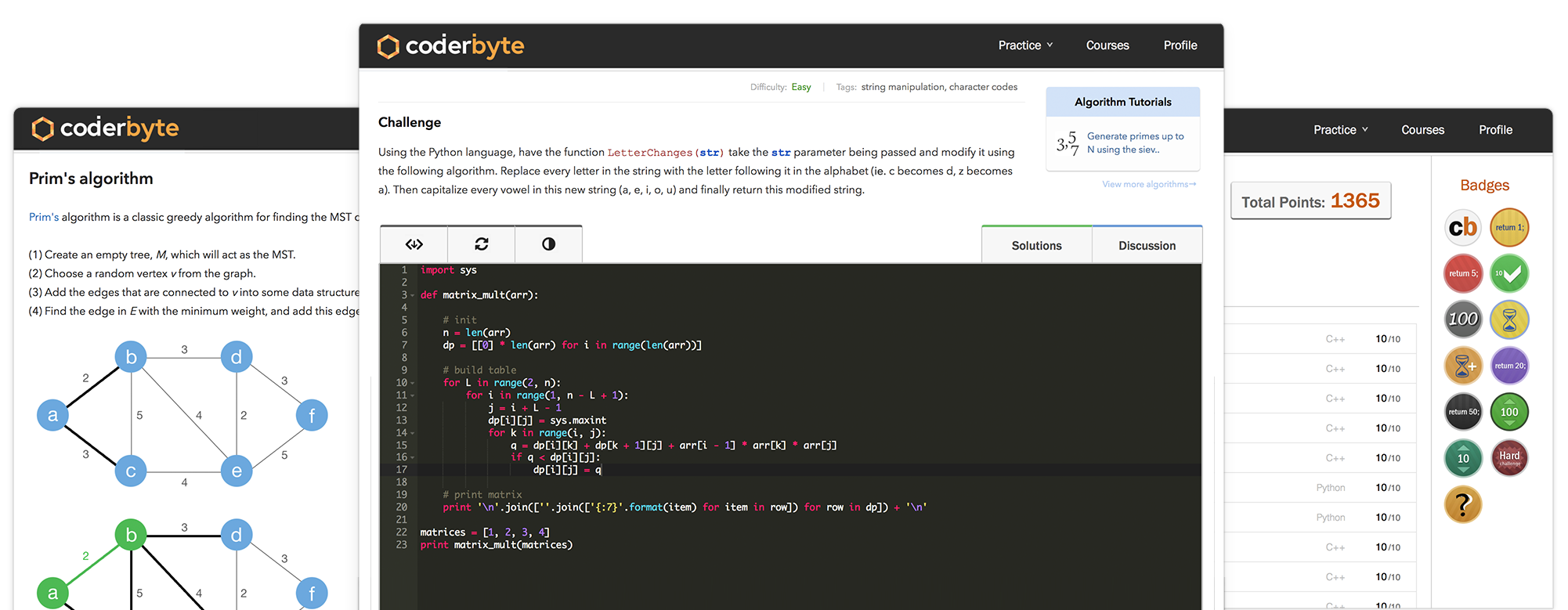 Coderbyte | The #1 Coding Assessment Platform
