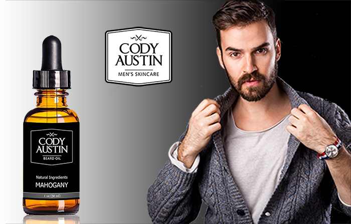 cody austin beard oil and conditioner mahogany scent made with organic oils. Black Bedroom Furniture Sets. Home Design Ideas
