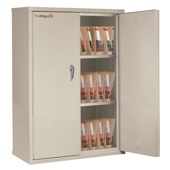 Storage Cabinet with End Tab Filing