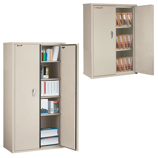 1-Hour Fire Resistant Storage Cabinets