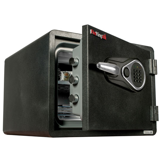 "Safe with Electronic Lock – 14"" Height"