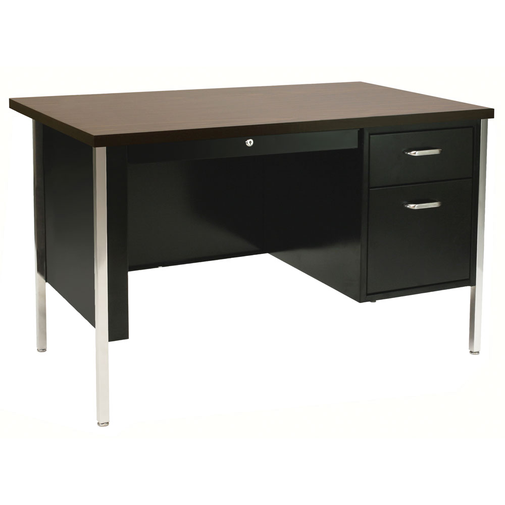 Single Right Hanging Pedestal Desk
