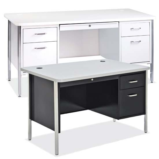 600 Series Steel - Teachers Desks