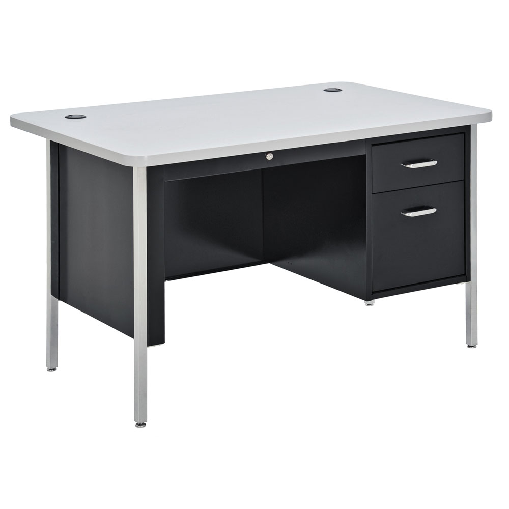 Teacher's Desk – Single Hanging Pedestal Desk