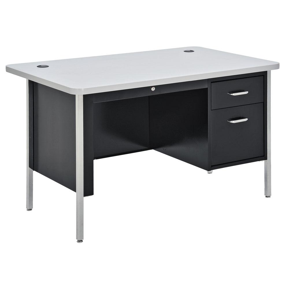 Teacher's Desk - Single Hanging Pedestal Desk