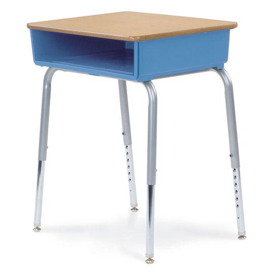 Open Front Student Desk