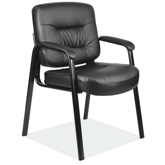Executive Guest Chair with Black Frame