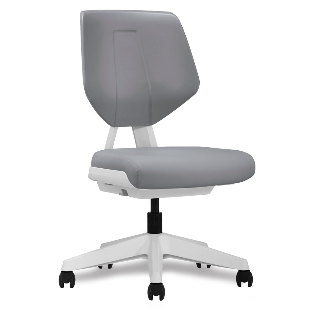 OfficeSource Alabaster Collection Armless Task Chair with 3D Tilt Mechanism