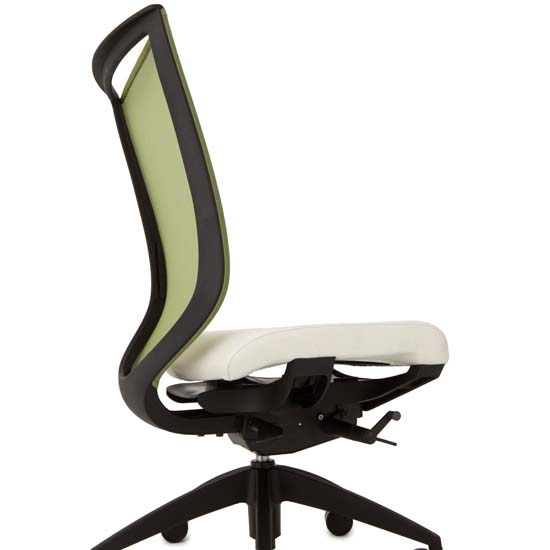 Mid Back Chair with Black Frame | JMJS Inc. dba COE Distributing