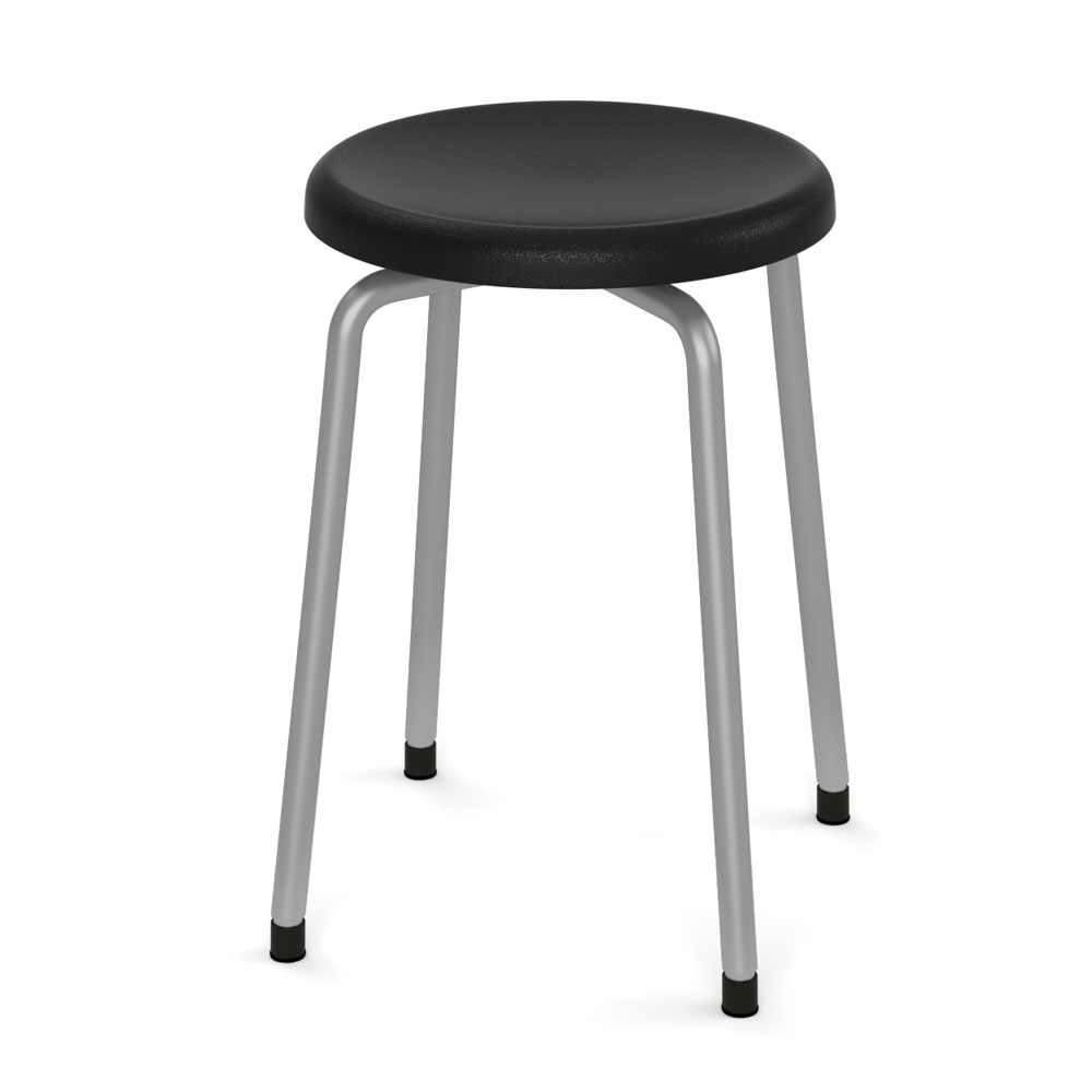"OfficeSource Bell Collection Stool – 19-5/16""H"
