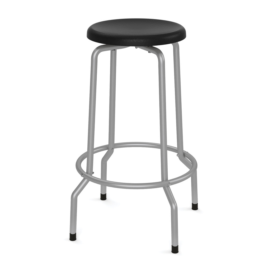 "OfficeSource Bell Collection Stool with Footring – 29-15/16""H"