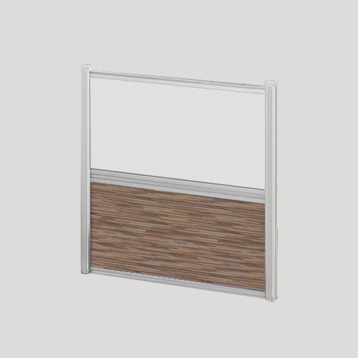 Borders Combination Screens (Acrylic + Fabric) – 24″W x 24″H
