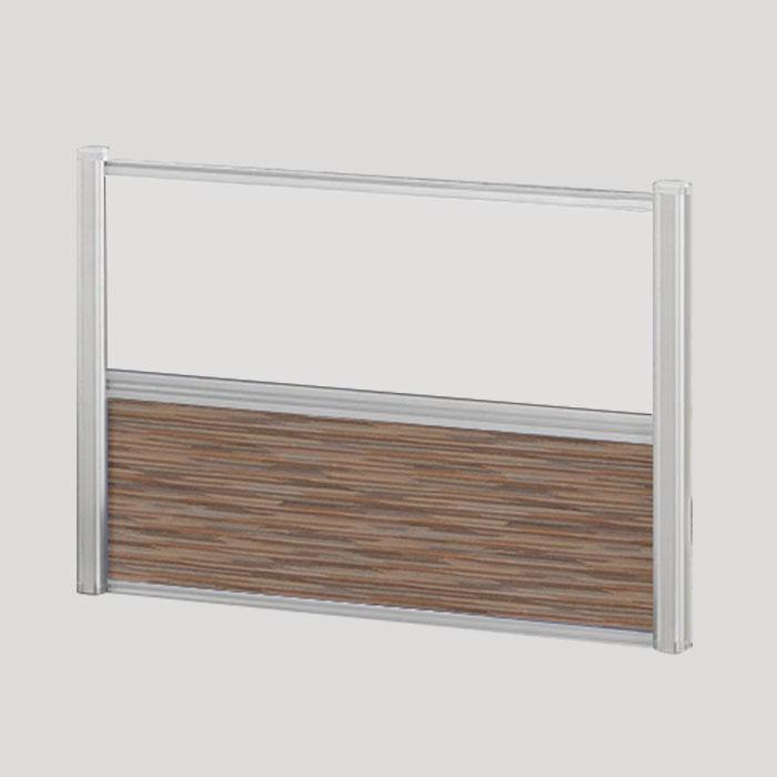 Borders Combination Screens (Acrylic + Fabric) – 36″W x 24″H