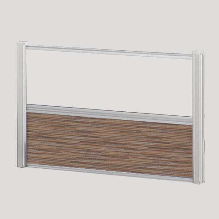 Borders Combination Screens (Acrylic + Fabric) – 48″W x 24″H
