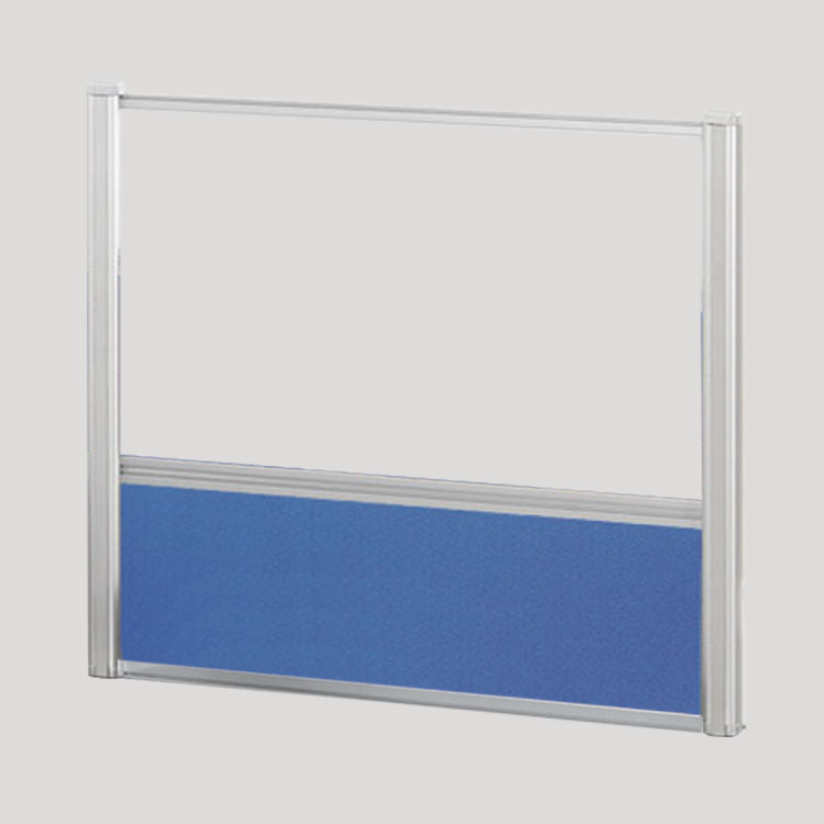 Borders Combination Screens (Acrylic + Fabric) – 48″W x 36″H