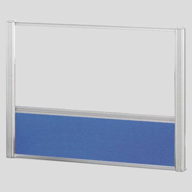 Borders Combination Screens (Acrylic + Fabric) – 66″W x 36″H