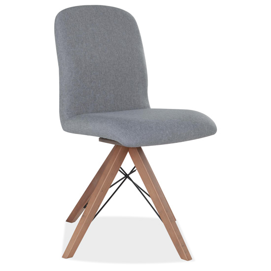Armless Swivel Chair With Wood Legs Officesource Furniture
