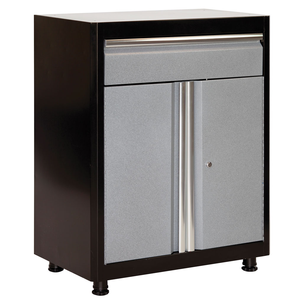 OfficeSource Brutus Collection Base Cabinet with Drawer