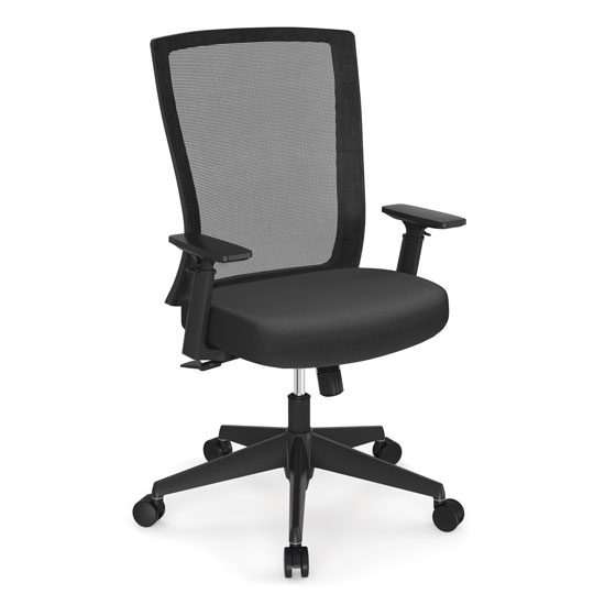 OfficeSource Cade Collection Executive Mesh Back Chair with Black Frame