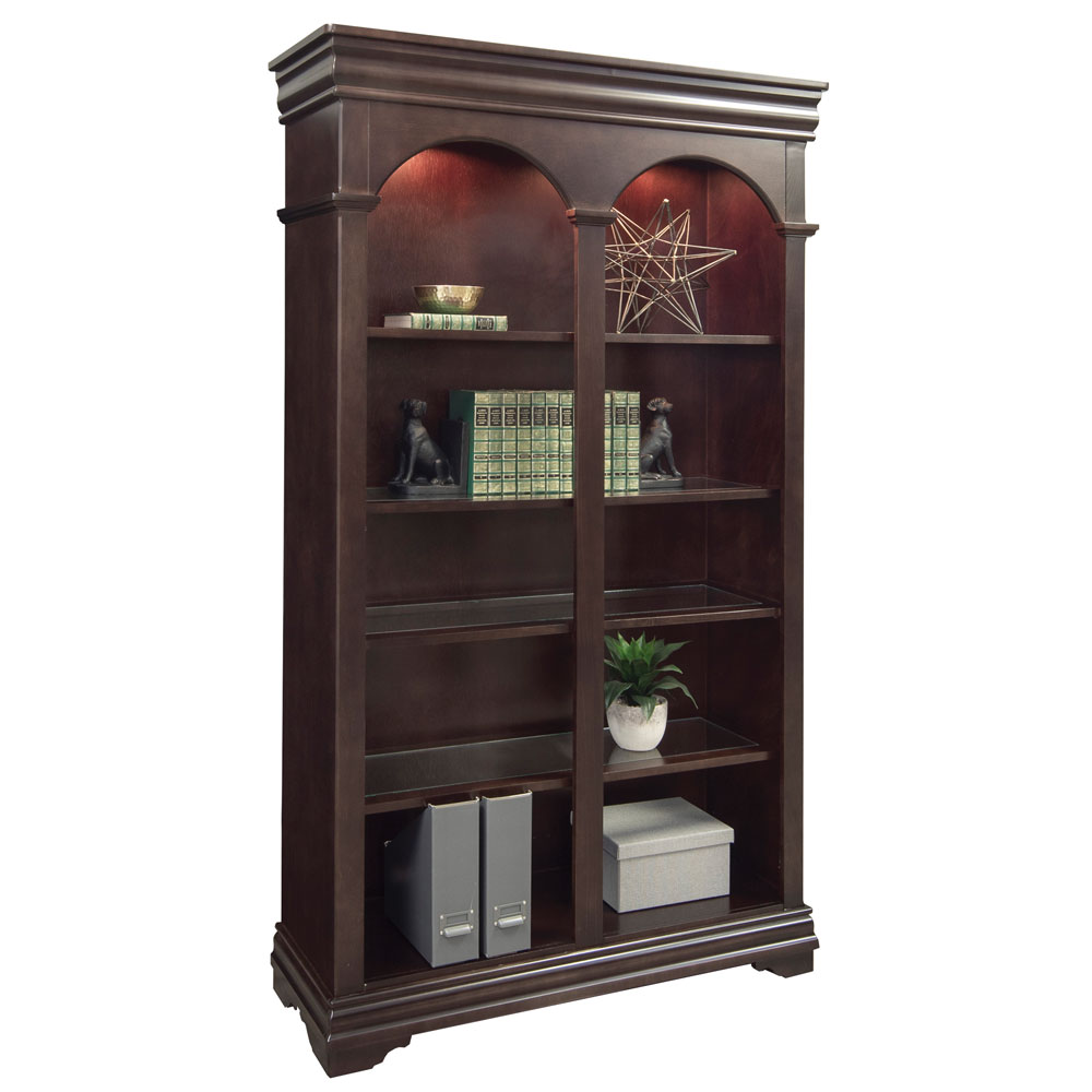 OfficeSource Cardinal Collection Double Open Bookcase