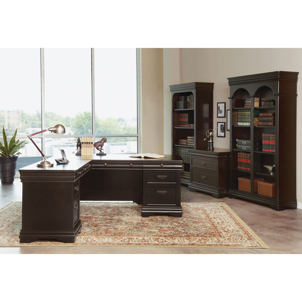 OfficeSource Cardinal Collection L Shape Typical – Cardinal 1
