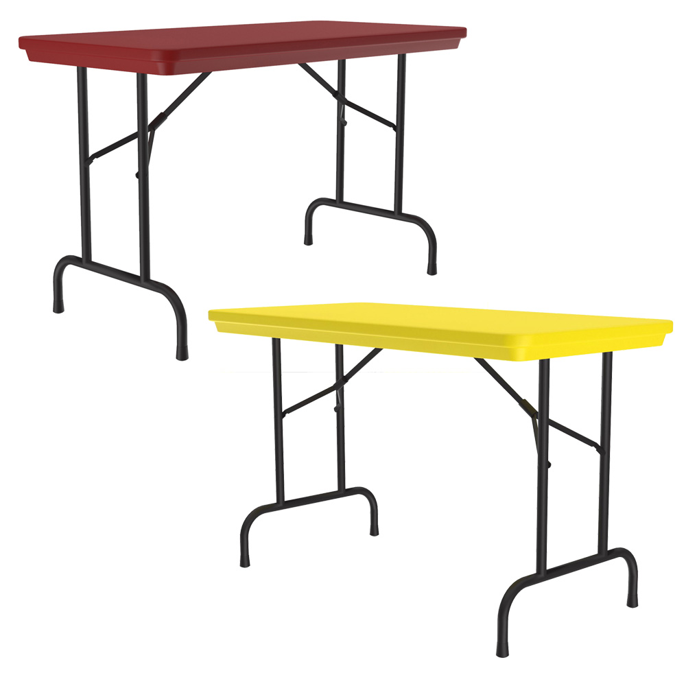 Colorful Blow Mold Folding Tables