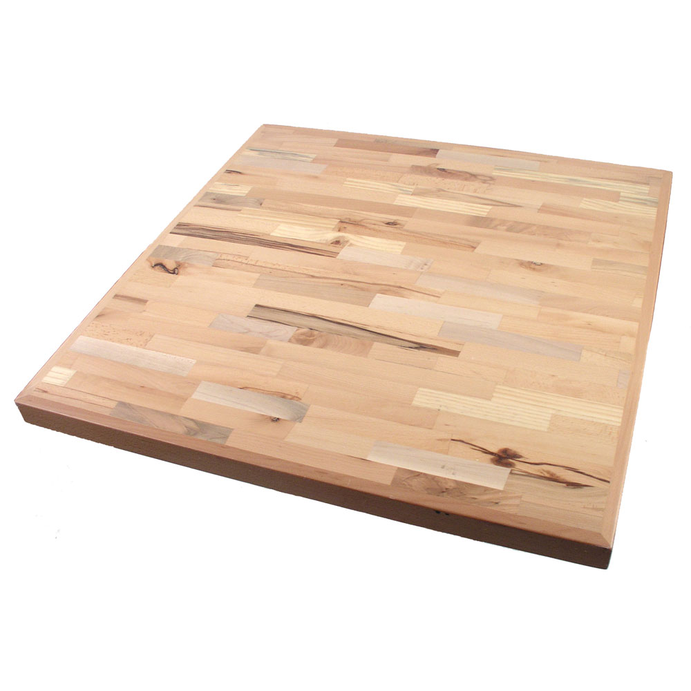 36″ Square Butcher Block Top