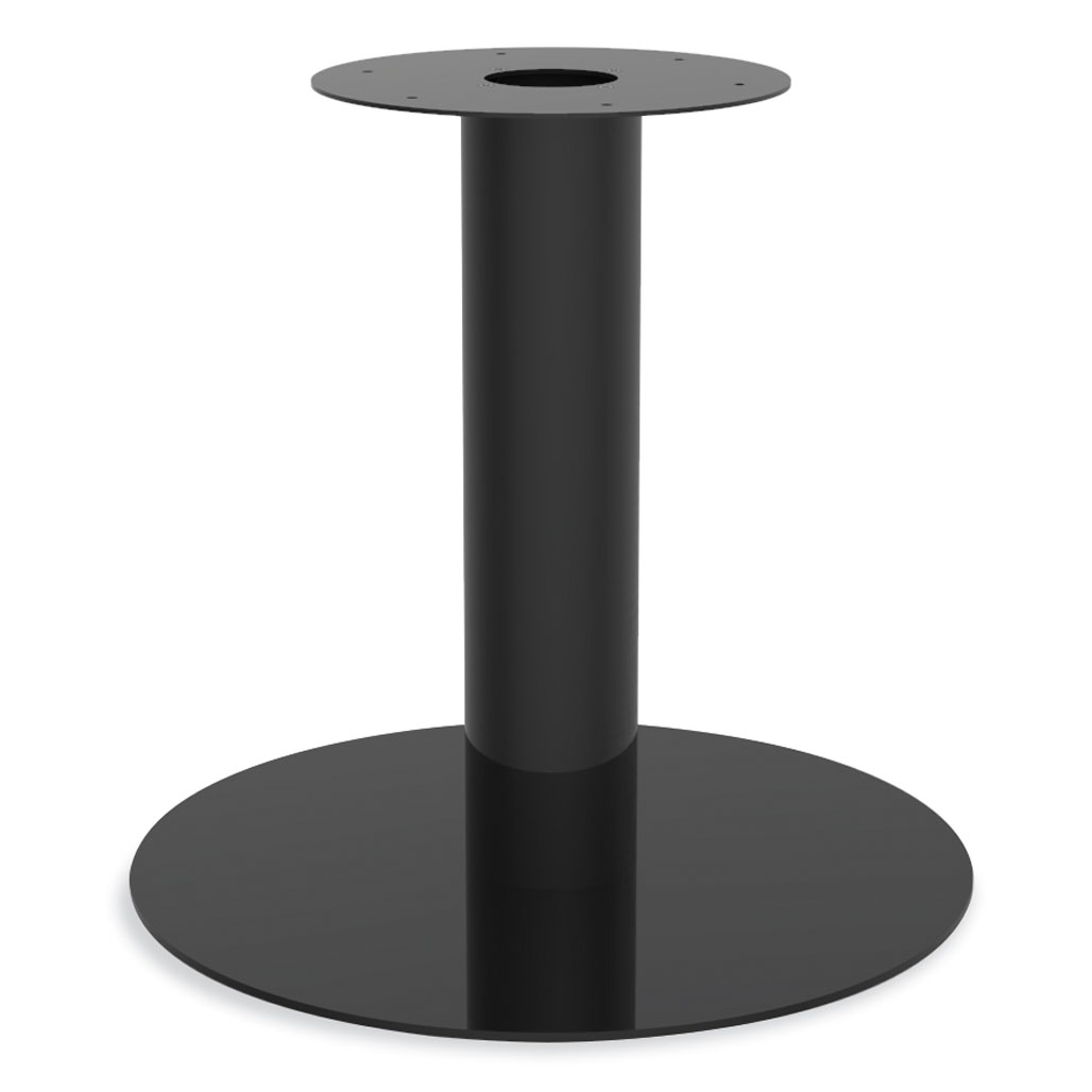 OfficeSource Conference/Multi-Purpose Tables Round Metal Base w/Wire Pass Through