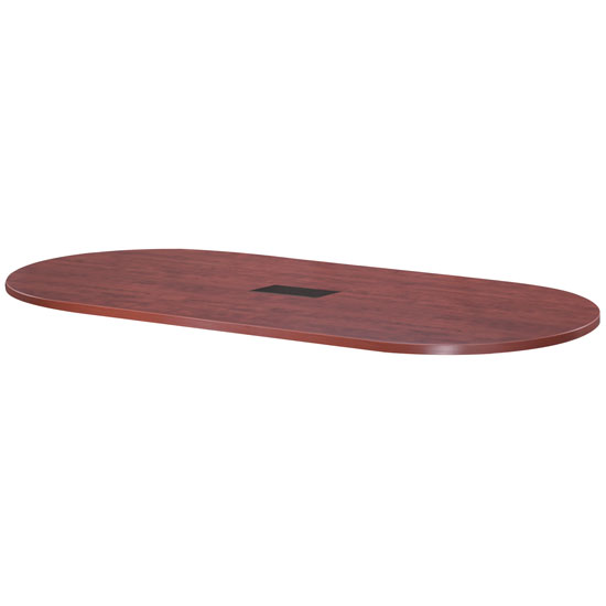 OfficeSource Conference/Multi-Purpose Tables 8′ Racetrack Table Top – Requires Bases