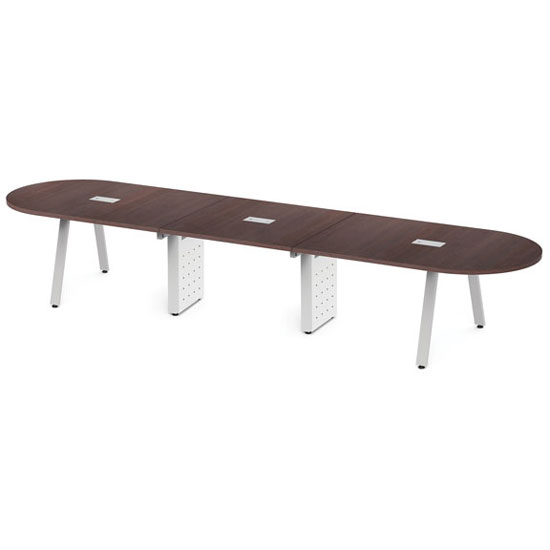 Half Racetrack Conference Table Top - Requires Base