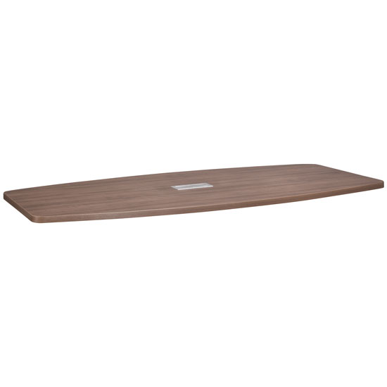 8′ Boat Shaped Table Top – Requires Bases