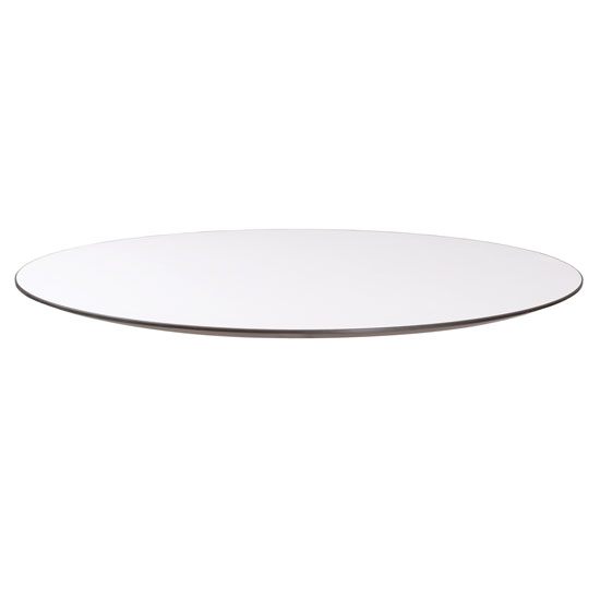 "24"" Round Beveled Edge Top – Requires Base"