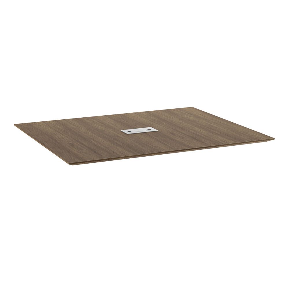 5' Rectangular Beveled Edge Top - Requires Bases