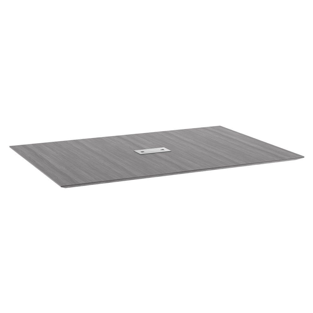 6' Rectangular Beveled Edge Top - Requires Bases