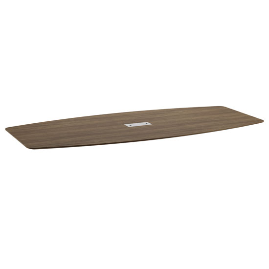 8′ Boat Shaped Beveled Edge Top – Requires Bases