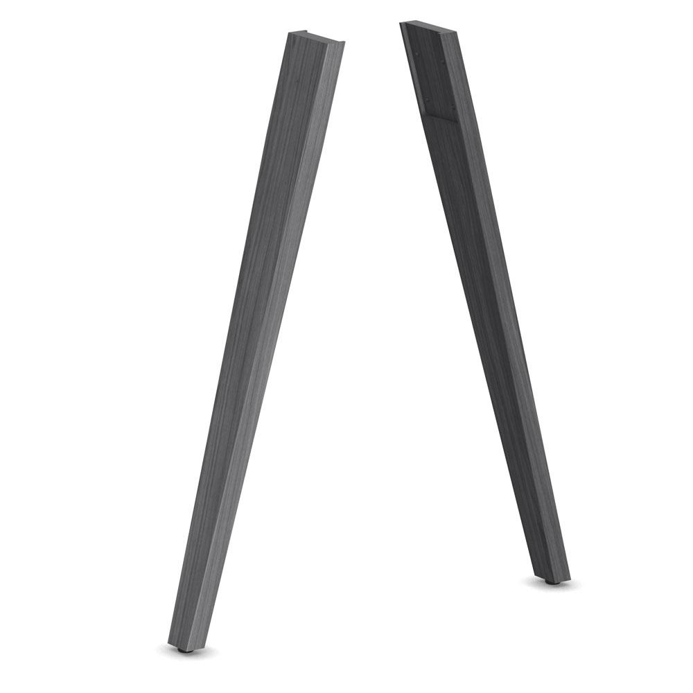 Oblique Wood Legs