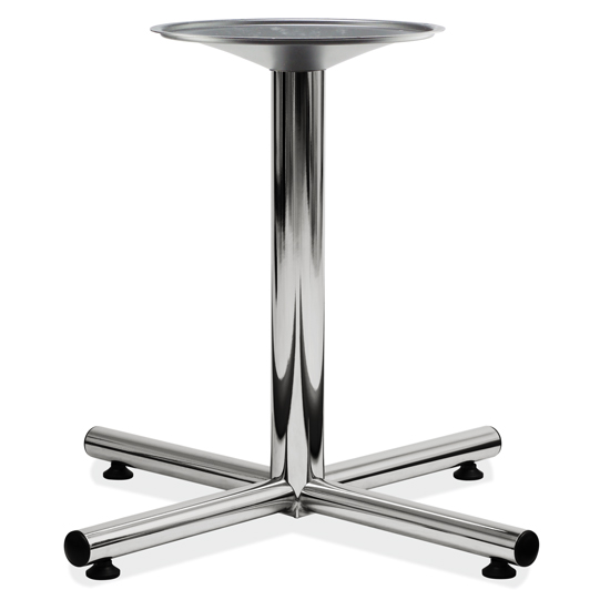OfficeSource Conference/Multi-Purpose Tables Standard Cross Base – Chrome