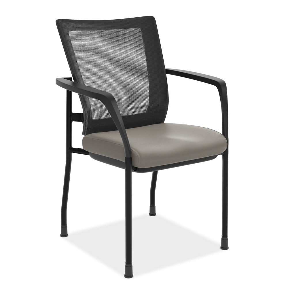 OfficeSource CoolMesh Collection Mesh Back Stacking Chair