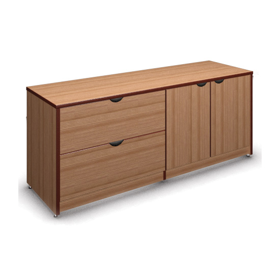 "2 Drawer Lateral and Storage with Locks – 29"" H"