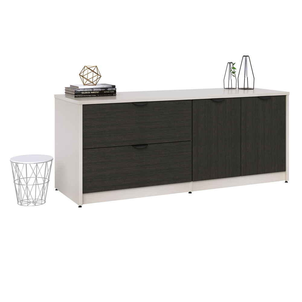 "2 Drawer Lateral and Storage with Locks – 29""H"