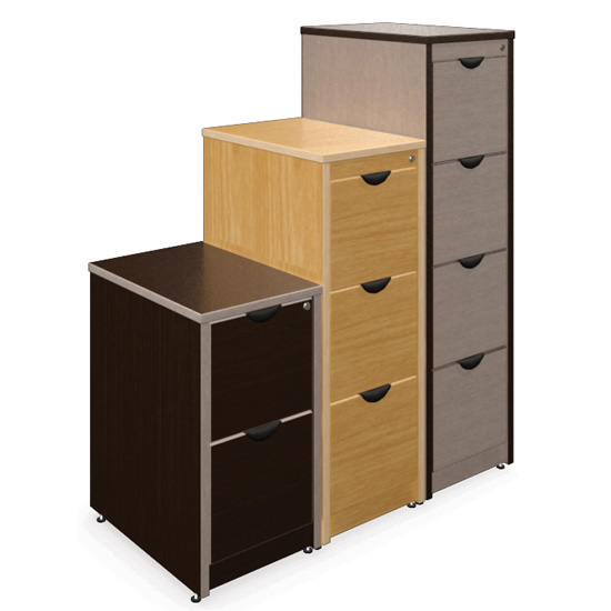 3 Drawer Legal with Lock