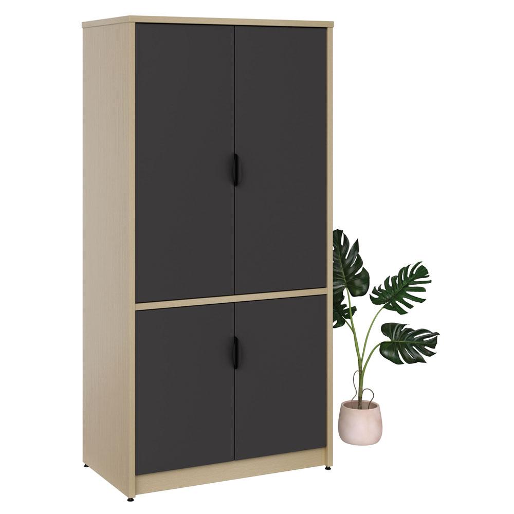 """2 Door Storage with Locks – 72"""" H"""